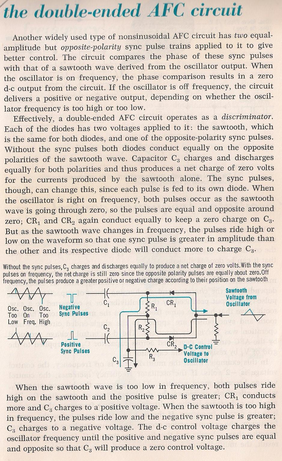 Auxiliary Circuits Negative Voltage Circuit Schematic 036 The Double Ended Afc By Larry E Gugle K4rfe